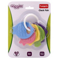 Giggles Clack Fish Teether