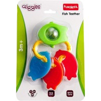 Giggles Fish Teether Rattle