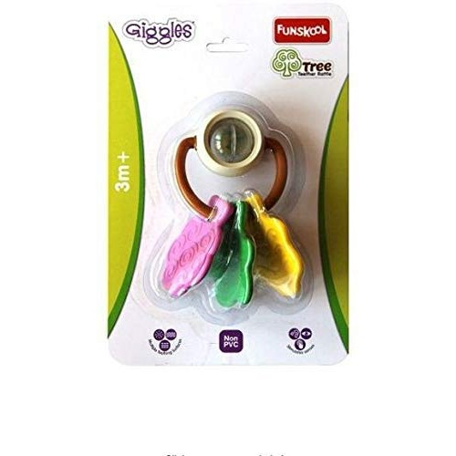 Giggles Tree Teether Rattle-Multi Color