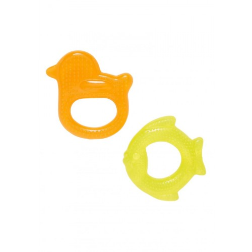 Mothercare Duck and Fish Teethers - 2 Pack