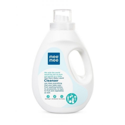 Mee Mee Anti-Bacterial Baby Liquid Cleanser for Fruits, Bottles, Accessories & Toys (1.5l)