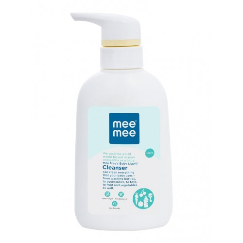 Mee Mee Anti-Bacterial Baby Liquid Cleanser for Fruits, Bottles, Accessories & Toys (300ml)