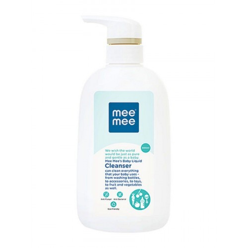 Mee Mee Anti-Bacterial Baby Liquid Cleanser for Fruits, Bottles, Accessories & Toys (500ml)