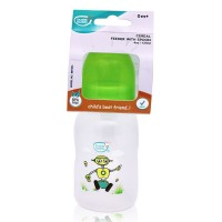 Buddsbuddy Cereal Feeder with Spoon, 125ml, Green