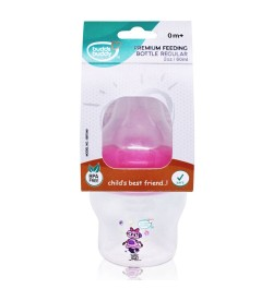 Buddsbuddy Premium Feeding Bottle Regular, 60ml, Pink
