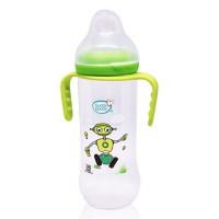 Buddsbuddy Premium Feeding Bottle with Handle, 250ml, Green