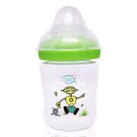 Buddsbuddy Premium Feeding Bottle with Wide Neck, 150ml, Green