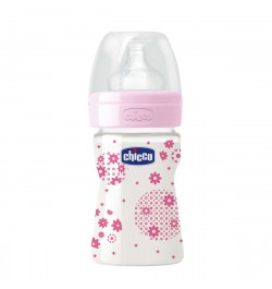 Chicco Well Being Feeding Bottle 150ml Regular Flow 0m+