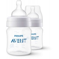 Philips Avent Classic Feeding Bottle (125ml) (Twin Pack)
