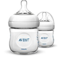 Philips Avent Natural Feeding Bottle (125ml) (Twin Pack)