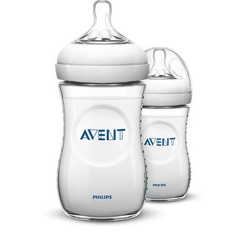 Philips Avent Natural Feeding Bottle (260ml) (Twin Pack)