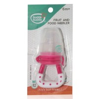 Buddsbuddy Fruit & Food Nibbler For Babies, Pink