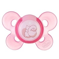 Chicco Soother Physio Comfort 0-6m+ (pink)