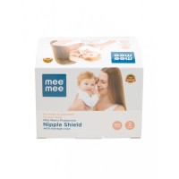 Mee Mee Protective Nipple Shield with Storage Case (2 Pieces)