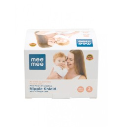 Buy Mee Mee Protective Nipple Shield with Storage Case (2 Pieces) Online in India