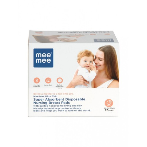 Mee Mee Ultra Thin Disposable Nursing Breast Pads (96 Pieces)