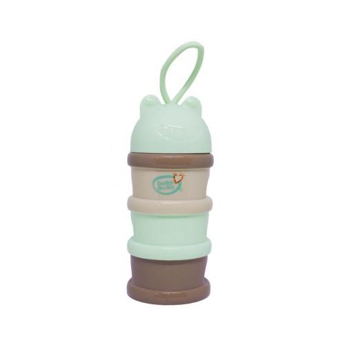 Buddsbuddy Baby Milk Powder Dispenser, Brown, (Age: 3m+)