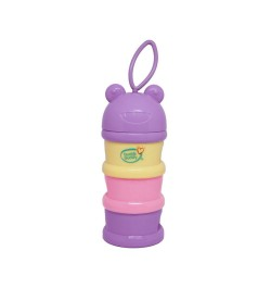 Buddsbuddy Baby Milk Powder Dispenser, Purple, (Age: 3m+)