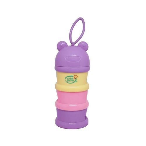 Buddsbuddy Baby Milk Powder Dispenser, Purple, (Age: 3m+)