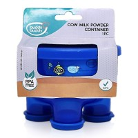 Buddsbuddy Milk Powder Container, Blue,(Age: 3m+)