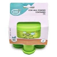 Buddsbuddy Milk Powder Container, Green,(Age: 3m+)