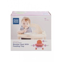 Mee Mee Safe Booster Seat with Adjustable Feeding Tray