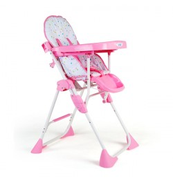 Buy Luvlap Comfy Baby High Chair – Pink Online in India