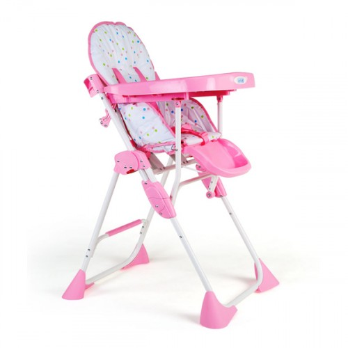 Luvlap Comfy Baby High Chair – Pink