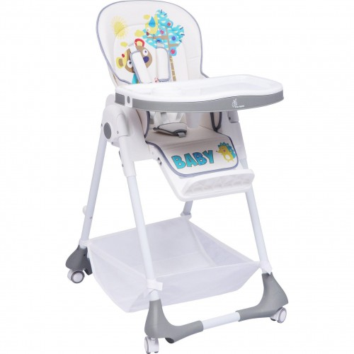 R for Rabbit Marshmallow - The Smart High Chair for Baby (Grey)