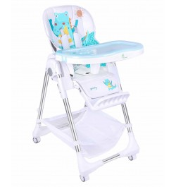 Buy R for Rabbit Marshmallow - The Smart High Chair for Baby Light Blue Online in India