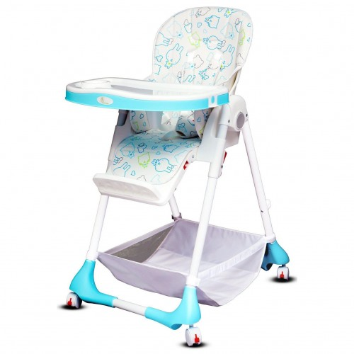 R for Rabbit Marshmallow - The Smart High Chair for Baby (White)