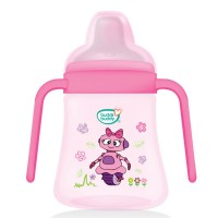 Buddsbuddy	Premium 2 Handle Soft Spout Sippy Cup, 270ml, Pink