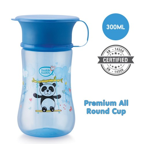 Buddsbuddy Premium All round cup 1Pc,300ml, Blue