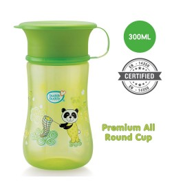 Buddsbuddy	Premium All round cup 1Pc,300ml, Green