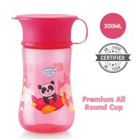Buddsbuddy	Premium All round cup 1Pc,300ml, Pink