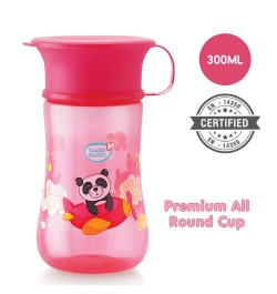 Buy Buddsbuddy	Premium All round cup 1Pc,300ml, Pink Online in India
