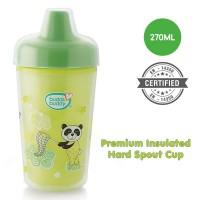 BuddsbuddyPremium Insulated Hard Spout Cup 1Pc, 270 ml, Green
