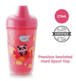 Buy Buddsbuddy	Premium Insulated Hard Spout Cup 1Pc, 270 ml, Pink Online in India