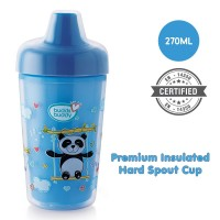 Buddsbuddy	Premium Insulated Hard Spout Cup 1Pc, 270 ml, Blue