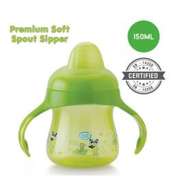 BuddsbuddyPremium Soft Spout Sipper 1Pc, 150ml, Green