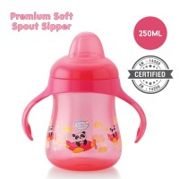 BuddsbuddyPremium Soft Spout Sipper 1Pc, 250ml, Pink