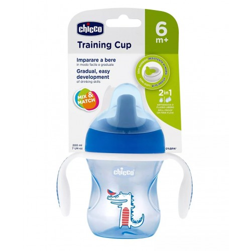 Chicco Cup Training 6m+(Blue)