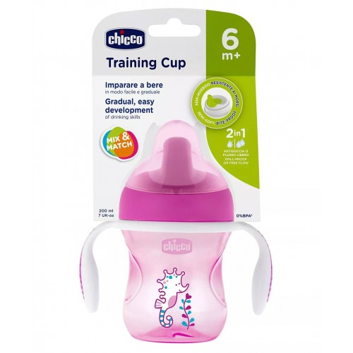Chicco Cup Training 6m+(Pink)