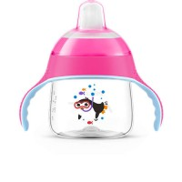 Philips Avent Spout Cup (Pink)(200ml) 6m+