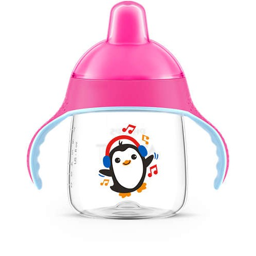 Philips Avent Spout Cup (Pink, 260ml) 12m+