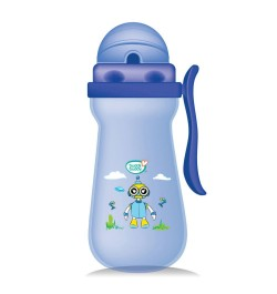 Buddsbuddy	Premium Baby Sipper with Single Handle, 410ml, Blue