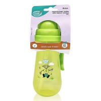Buddsbuddy	Premium Baby Sipper with Single Handle, 410ml, Green