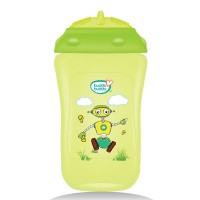BuddsbuddyPremium Sippy Cup With Straw Lid, 300ml, Green
