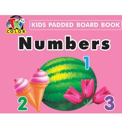 Tricolor Kids Padded Board Books-Numbers