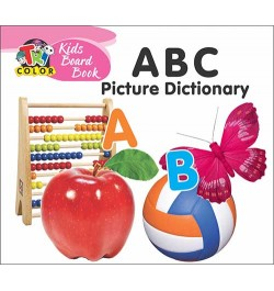 Buy Tricolor Kids Board Books-ABC Picture Dictionary Online in India